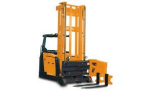 very narrow aisle forklift operator training courses